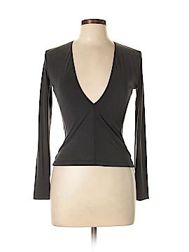 American Apparel Long Sleeve Blouse Size L