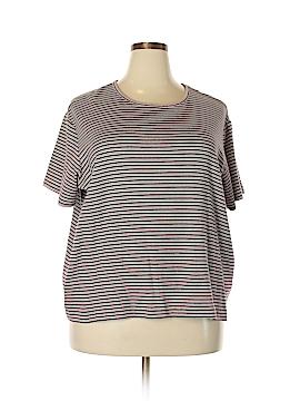 Sport Savvy Short Sleeve T-Shirt Size 3X (Plus)