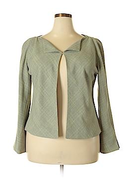 Linda Allard Ellen Tracy Wool Blazer Size 16 (Plus)