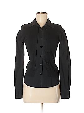 IKKS Long Sleeve Button-Down Shirt Size 38 (FR)