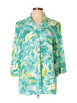 JM Collection 3/4 Sleeve Blouse Size 16