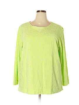 Coldwater Creek Sweatshirt Size 2X (Plus)
