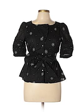 Lithe Short Sleeve Button-Down Shirt Size 6
