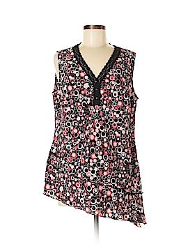 Fashion Bug Sleeveless Blouse Size 14/16W