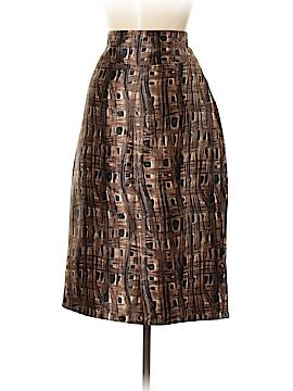 Barneys New York Silk Skirt Size 10