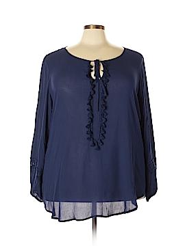 Spense Long Sleeve Blouse Size 2X (Plus)