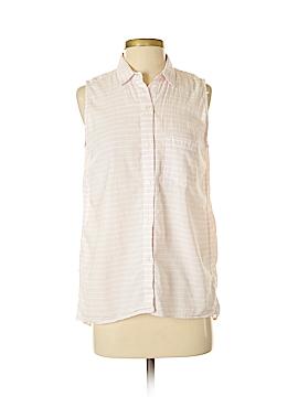 Gap Sleeveless Button-Down Shirt Size S