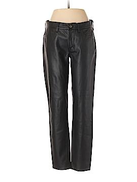 J. Crew Faux Leather Pants 28 Waist