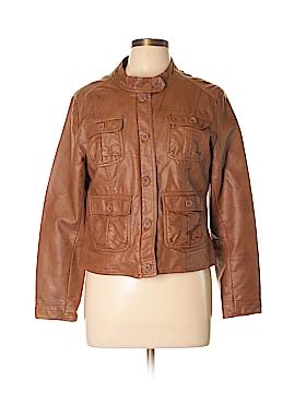 H&M Faux Leather Jacket Size 14