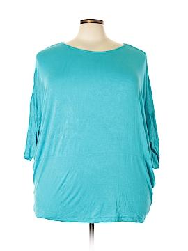 Avon 3/4 Sleeve Top Size 1X - 2X (Plus)