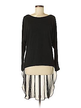 Bisou Bisou Long Sleeve Blouse Size M
