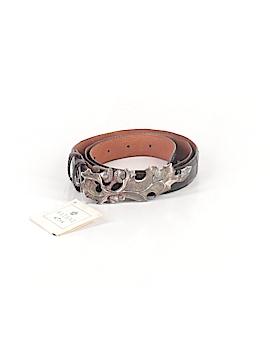 Wathne Leather Belt 34 Waist