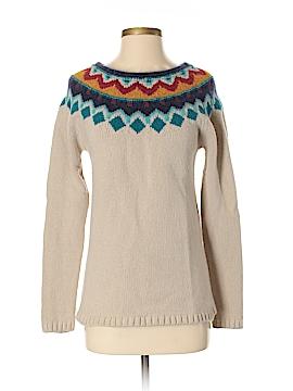 Garnet Hill Wool Pullover Sweater Size S