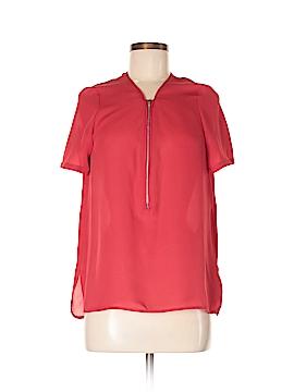 The Kooples Short Sleeve Silk Top Size M