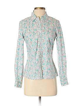 Laura Ashley Long Sleeve Button-Down Shirt Size 4