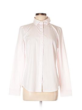 Nautica Long Sleeve Button-Down Shirt Size M