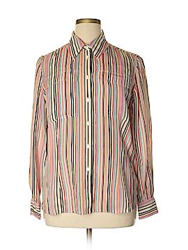 Jones New York Long Sleeve Silk Top Size 14w