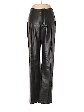Linda Allard Ellen Tracy Leather Pants Size 6