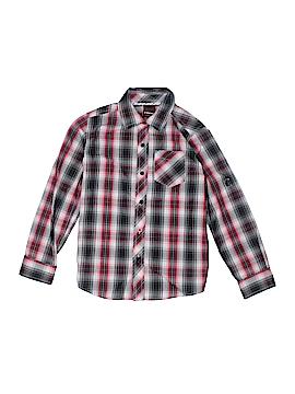 Hawk Long Sleeve Button-Down Shirt Size 7