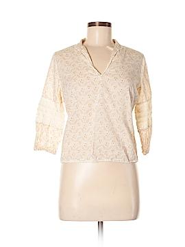 Jill Stuart 3/4 Sleeve Blouse Size Med (2)