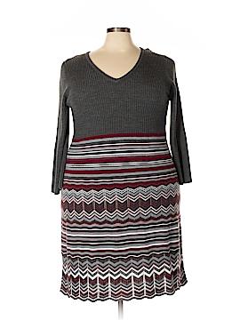 London Times Casual Dress Size 3X (Plus)
