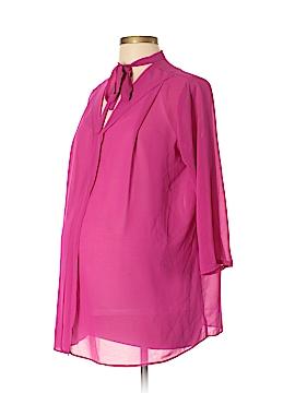 Maternal America 3/4 Sleeve Blouse Size M (Maternity)