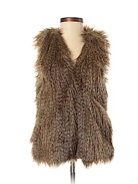 Divided by H&M Faux Fur Vest Size 2