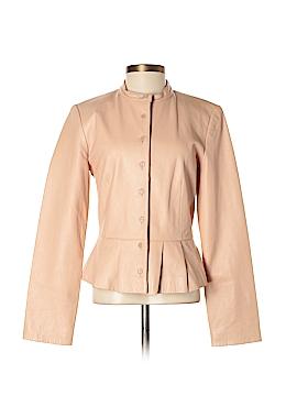Moda International Leather Jacket Size XS
