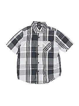 Shaun White Short Sleeve Button-Down Shirt Size S (Kids)
