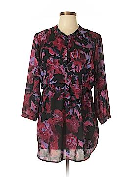 Eight Sixty 3/4 Sleeve Blouse Size L