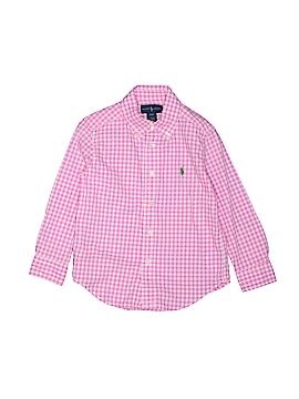 Ralph Lauren Long Sleeve Button-Down Shirt Size 4T - 4