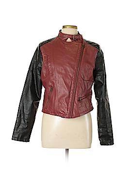 Rue21 Faux Leather Jacket Size L