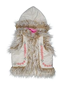 Mimi & Maggie Faux Fur Vest Size 4