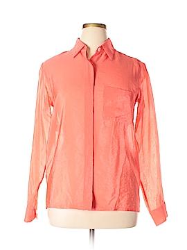 Donna Karan New York Long Sleeve Button-Down Shirt Size L