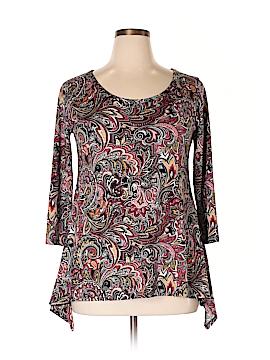 Carol Rose Long Sleeve T-Shirt Size L