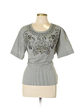 7th Avenue Design Studio New York & Company Short Sleeve Blouse Size L