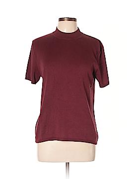 Draper's & Damon's Short Sleeve Silk Top Size L