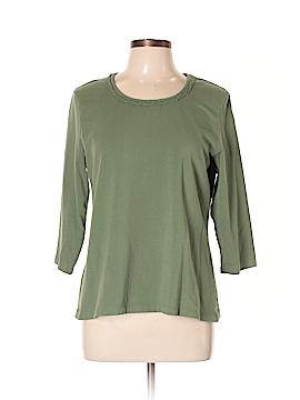 Croft & Barrow 3/4 Sleeve T-Shirt Size L