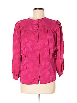 Lloyd Williams Long Sleeve Silk Top Size 8