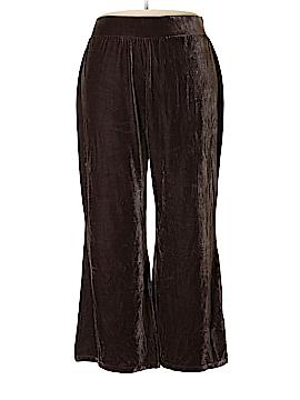 Dialogue Velour Pants Size 2X (Plus)