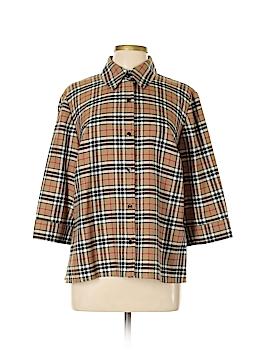 Sag Harbor 3/4 Sleeve Button-Down Shirt Size 16w