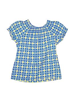 Arizona Jean Company Short Sleeve Blouse Size 8