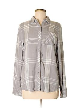 CALVIN KLEIN JEANS Long Sleeve Button-Down Shirt Size M