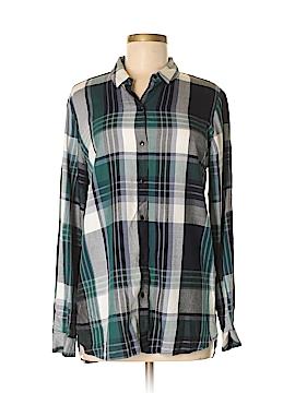 Philosophy Republic Clothing Long Sleeve Button-Down Shirt Size M