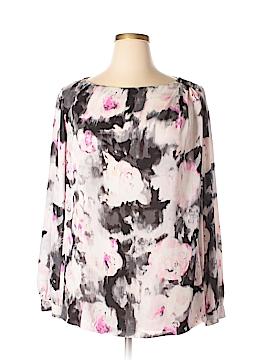Liz Claiborne Long Sleeve Blouse Size 1X (Plus)