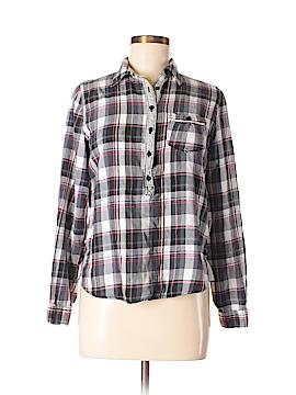 Vigoss Long Sleeve Button-Down Shirt Size M