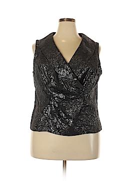 DressBarn Sleeveless Blouse Size 18 (Plus)