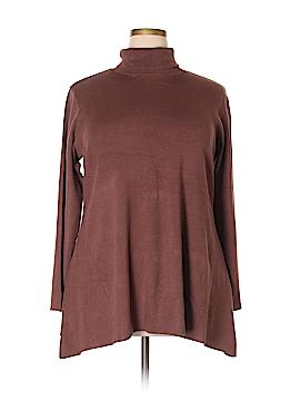 Whisper Turtleneck Sweater Size 1X (Plus)