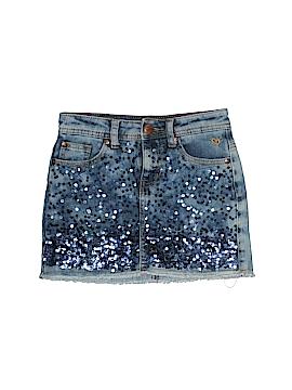 Justice Denim Skirt Size 10