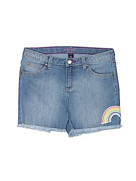 Lands' End Denim Shorts Size 14